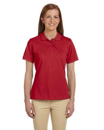 Ladies' 6 oz. Ringspun Cotton Piqué Short-Sleeve Polo: (M200W)
