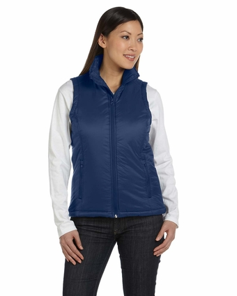 Ladies' Essential Polyfill Vest: (M795W)