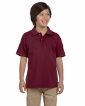 Youth 6 oz. Ringspun Cotton Piqué Short-Sleeve Polo: (M200Y)