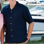 Inner Harbor Men's Camp Shirt: Chest Pocket (3000)