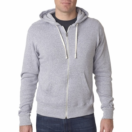 Triblend Full-Zip Fleece Hood: (JA8872)