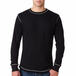 Vintage Long-Sleeve Thermal T-Shirt: (JA8238)