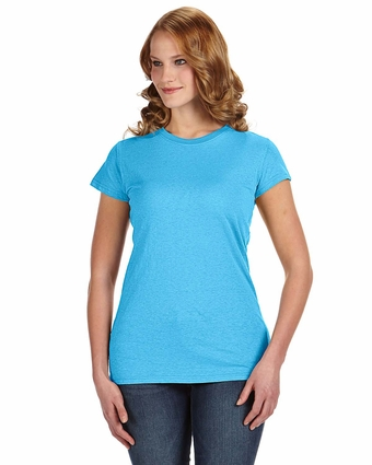 Ladies' Glitter T-Shirt: (JA8138)