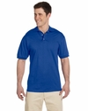 6.1 oz. Heavyweight Cotton Jersey Polo: (J100)