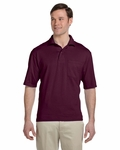 5.6 oz., 50/50 Jersey Pocket Polo with SpotShield™: (436P)