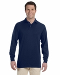5.6 oz., 50/50 Long-Sleeve Jersey Polo with SpotShield™: (437ML)