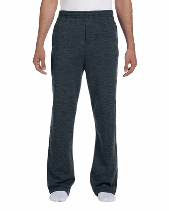 8 oz., 50/50 NuBlend® Open-Bottom Sweatpants: (974MP)