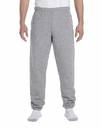 9.5 oz., 50/50 Super Sweats® NuBlend® Fleece Pocketed Sweatpants: (4850P)
