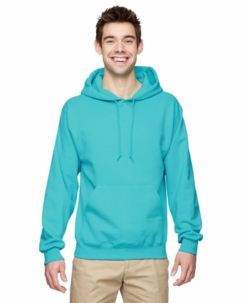 8 oz., 50/50  NuBlend® Fleece Pullover Hood: (996)