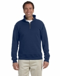 9.5 oz., 50/50 Super Sweats® NuBlend® Fleece Quarter-Zip Pullover: (4528)