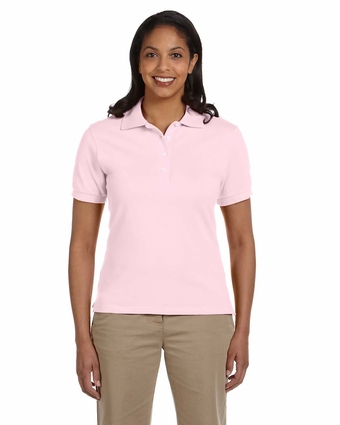 Ladies' 6.5 oz. Ringspun Cotton Piqué Polo: (440W)