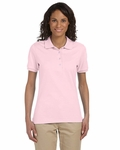 Ladies' 5.6 oz., 50/50 Jersey Polo with SpotShield™: (437W)