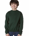 Youth 9.5 oz., 50/50  Super Sweats® NuBlend® Fleece Crew: (4662B)
