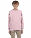 Dri-POWER® ACTIVE Youth 5.6 oz., 50/50 Long-Sleeve T-Shirt: (29BL)