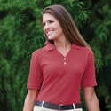Jonathan Corey Women's Polo Shirt: 100% Pima Cotton Fine Pique (200)