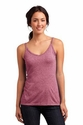 Juniors Microburn Double V-Neck Tank