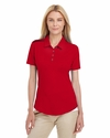 Ladies' 3-Stripes Shoulder Polo