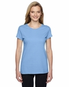 Ladies' 4.7 oz., 100% Sofspun™ Cotton Jersey Junior Crew T-Shirt: (SSFJR)