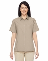 Ladies' Advantage Snap Closure Short-Sleeve Shirt: (M545W)