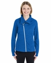 Ladies' Amplify Melange Fleece Jacket: (NE704W)