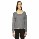 Ladies' Athletic Crop Sweatshirt: (HVT316)