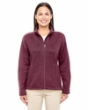 Ladies' Bristol Full-Zip Sweater Fleece Jacket: (DG793W)