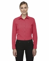 Ladies' Central Ave Mélange Performance Shirt: (78802)