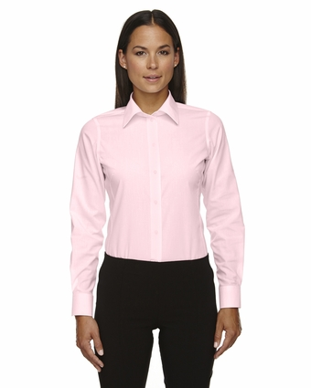 Ladies' Crown Collection™ Solid Broadcloth: (D620W)