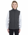 Ladies' Cruise Two-Layer Fleece Bonded Soft Shell Vest: (CE701W)