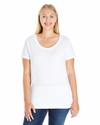 Ladies' Curvy Premium Jersey T-Shirt