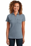 Ladies Double Pocket Polo