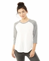 Ladies' Eco Jersey Raglan Baseball T-Shirt