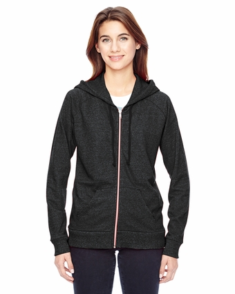 Ladies' Eco-Mock Twist Adian Hoodie