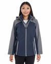 Ladies' Embark Colorblock Interactive Shell with Reflective Printed Panels: (NE700W)