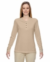 Ladies' Excursion Nomad Performance Waffle Henley: (78221)
