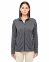 Ladies' Fairfield Herringbone Full-Zip Jacket: (D885W)
