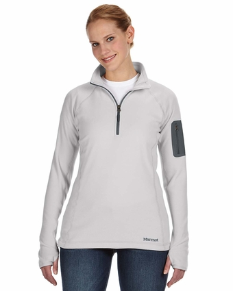Ladies' Flashpoint Half-Zip: (88250)