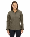Ladies' Forecast Three-Layer Light Bonded Travel Soft Shell Jacket: (78212)