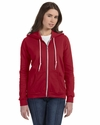 Ladies' Full-Zip Hooded Fleece: (71600L)