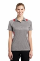 Ladies Heather Colorblock Contender Polo