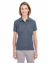 Ladies' Heathered Pique Polo