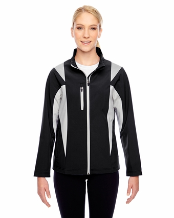 Ladies' Icon Colorblock Soft Shell Jacket: (TT82W)