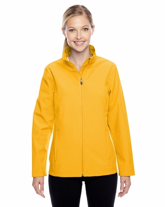 Ladies' Leader Soft Shell Jacket: (TT80W)