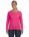 Ladies' Lightweight Long-Sleeve T-Shirt: (884L)
