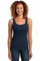 Ladies Mini Rib Racerback Tank