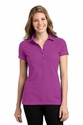 Ladies Modern Stain-Resistant  Polo