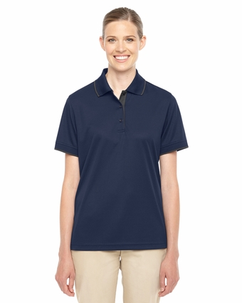 Ladies' Motive Performance Pique Polo with Tipped Collar