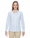 Ladies' Paramount Wrinkle-Resistant Cotton Blend Twill Checkered Shirt: (77043)