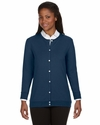 Ladies' Perfect Fit™ Ribbon Cardigan: (DP181W)