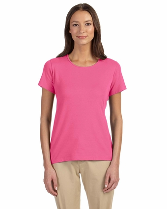 Ladies' Perfect Fit™ Shell T-Shirt: (DP182W)